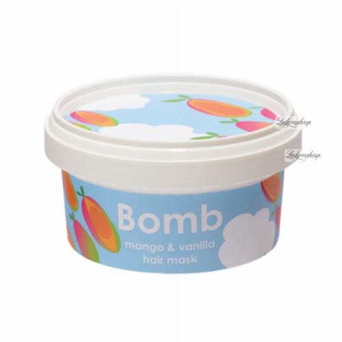 Bomb Cosmetics - Mango & Vanilla Hair Mask - Maska do włosów z olejem Brassica