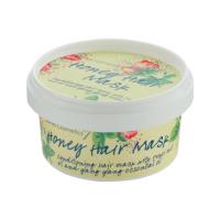 Bomb Cosmetics - Honey Hair Mask - Miodowa maska do włosów z olejem Brassica i z orzecha Kukui