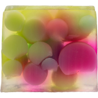 Bomb Cosmetics - Handmade Soap with Essentials Oils - Bubble Up - Mydło glicerynowe - BĄBELKI