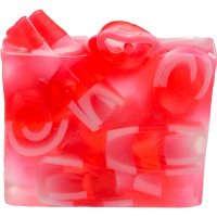 Bomb Cosmetics - Handmade Soap with Essential Oils - Candy Cane Mountain
