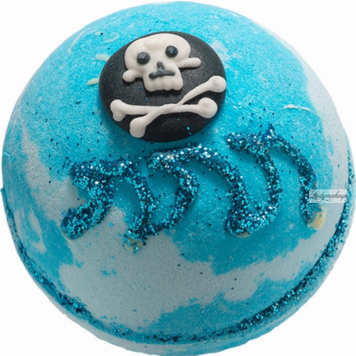 Bomb Cosmetics - Shiver Me Timbers - Sparkling Bath ball - PIRATE
