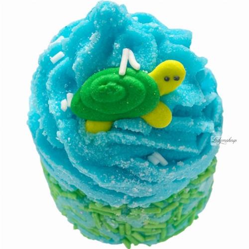 Bomb Cosmetics - Turtley Awesome Bath Mallow - Nawilżająca babeczka do kąpieli - ŻÓŁWIK
