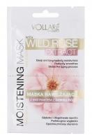VOLLARÉ - MOISTENING MASK - WITH WILD ROSE EXTRACT - FACE&NECK - Maska nawilżająca z ekstraktem z dzikiej róży do twarzy i szyi