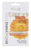 VOLLARÉ - BRIGHTENING MASK - MARIGOLD EXTRACT - FACE&NECK - Maska rozświetlająca z ekstraktem z nagietka do twarzy i szyi