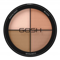 GOSH - CONTOUR'N STROBE KIT - Paleta do konturowania twarzy 4w1 - 001 - LIGHT - 001 - LIGHT