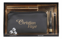 Christian - Celebration Eyes - Gift Set - Mascara, eyebrow gel, tweezers and case