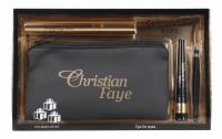 Christian - Celebration Eyes - Gift Set - Mascara, eyeliner, tweezers and case
