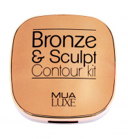 MUA - Bronze & Sculpt - Contour Kit - Zestaw do konturowania