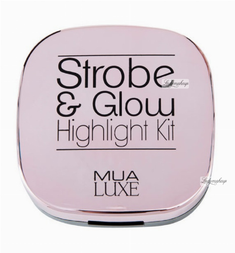 MUA - Strobe & Glow - Highlight Kit - Zestaw dwóch rozświetlaczy
