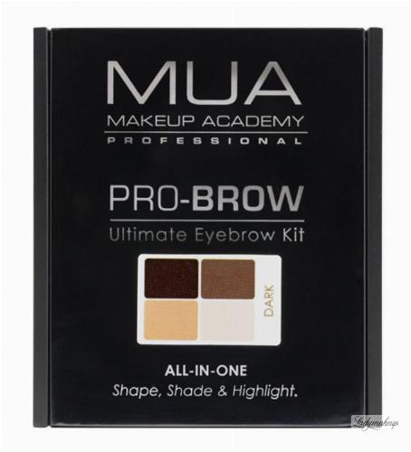 MUA -  PRO-BROW Ultimate Eyebrow Kit - Zestaw do stylizacji brwi