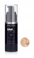 INGRID - Ideal Face - Perfectly Cover - LUXURIOUS SILKY MAKE-UP FOUNDATION - Luksusowy jedwabisty podkład do twarzy - 16 PEACH - 16 PEACH