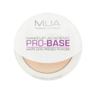 MUA - PRO-BASE - Matte Satin Pressed Powder  - IVORY - IVORY