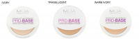 MUA - PRO-BASE - Matte Satin Pressed Powder - Prasowany puder do twarzy