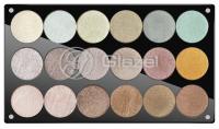Glazel - Paleta 18 cieni do powiek - 1 (METALICZNE)
