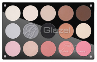 Glazel - Palette of 15 eyeshadows (signed by Wioletta Uzarowicz) - 2