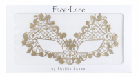 KRYOLAN - Face Lace Beauroque - OPEN EYES GOLD - Samoprzylepna ozdoba do twarzy - ART. 50010/02