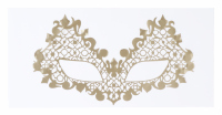 KRYOLAN - Face Lace Beauroque - OPEN EYES GOLD - Self-adhesive face decoration - ART. 50010/02