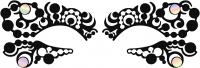 KRYOLAN - Face Lace - OPTART - Self-adhesive eye ornament - ART. 50014/03
