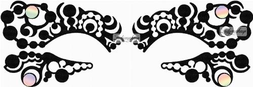 KRYOLAN - Face Lace - OPTART - Samoprzylepna ozdoba do oczu - ART. 50014/03