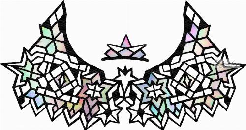 KRYOLAN - Face Lace - Samoprzylepna ozdoba do twarzy - ART. 50016