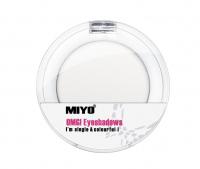 MIYO - OMG! Eyeshadows - Cień do powiek - 01 - WHITE - 01 - WHITE