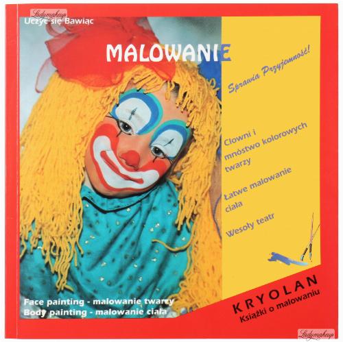 """KRYOLAN - Książka dla dzieci """"Malowanie"""" - ART. 7024"""