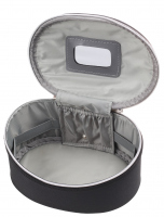 Inter-Vion - Kufer kosmetyczny 413569 A - MAŁY (CZARNY)
