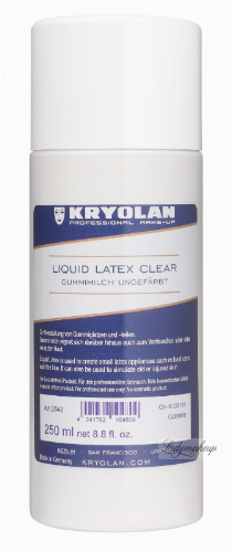 KRYOLAN - GUMMIMILCH - LATEX LIQUID - Płynny latex - 250 ml - ART. 2542