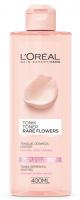 L'Oréal - Rare Flowers Toner - Tonik do skóry suchej i wrażliwej z ekstraktem z róży i jaśminu
