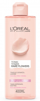 L'Oréal - Rare Flowers Toner - Dry and sensitive skin toner with rose and jasmine extracts