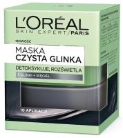 L'Oréal - MASKA CZYSTA GLINKA - Detoksykująca i rozświetlająca
