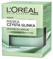 L'Oréal - MASKA CZYSTA GLINKA - Oczyszczająca i matująca
