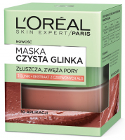 L'Oréal - MASKA CZYSTA GLINKA - Złuszczająca i zwężająca pory