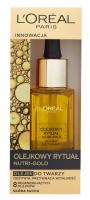 L'Oréal - Olejkowy Rytuał NUTRI-GOLD - Olejek do twarzy do skóry suchej