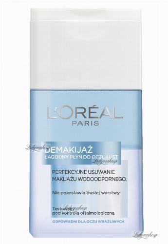 L'Oréal - Łagodny płyn do wodoodpornego demakijażu oczu i ust