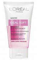 L'Oréal - IDEAL SOFT - Delicate Cream Wash - Żel-krem oczyszczający - Skóra sucha i wrażliwa