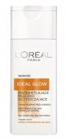 L'Oréal - IDEAL GLOW - Rozświetlające mleczko oczyszczające - Skóra pozbawiona blasku