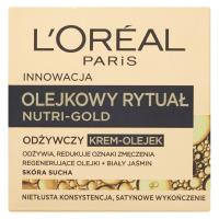 L'Oréal - NUTRI-GOLD - Olejkowy rytuał - Odżywczy krem-olejek - Skóra sucha