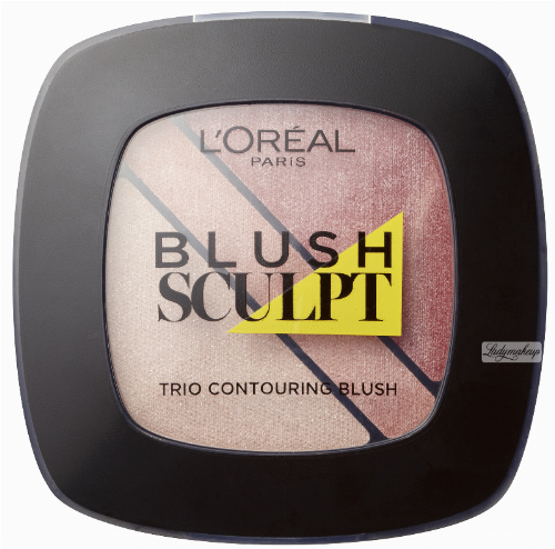 L'Oréal - BLUSH SCULPT - Trio Contouring Blush - Róż do policzków