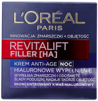 L'Oréal - REVITALIFT FILLER [HA] - Krem anti-age z kwasem hialuronowym na noc