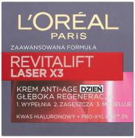 L'Oréal - REVITALIFT LASER X3 - Krem anti-age na dzień