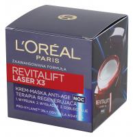 L'Oréal - REVITALIFT LASER X3 - Krem-maska anti-age na noc