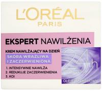L'Oréal - EKSPERT NAWILŻENIA - Krem nawilżający na dzień - Skóra wrażliwa i zaczerwieniona