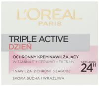 L'Oréal - EKSPERT NAWILŻENIA - Krem nawilżający na dzień - Skóra sucha i wrażliwa