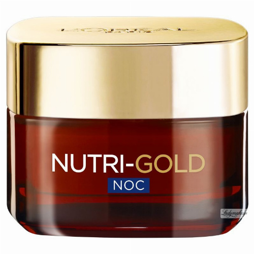 L'Oréal - NUTRI-GOLD - Moisturizing Nutritional Night Therapy