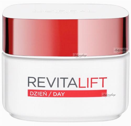 L'Oréal - REVITALIFT - Przeciwzmarszczkowy i silnie ujędrniający krem na dzień - 50 ml - 40+