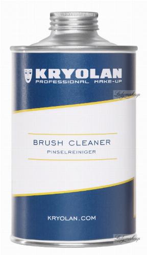 Kryolan - Płyn do mycia i dezynfekcji pędzli - 500 ml
