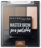 MAYBELLINE - MASTER BROW -  Pro Palette - Zestaw do makijażu brwi