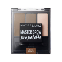 MAYBELLINE - MASTER BROW -  Pro Palette - Zestaw do makijażu brwi - SOFT BROWN - SOFT BROWN