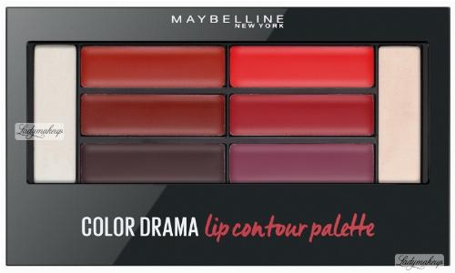 MAYBELLINE - COLOR DRAMA - Lip Contour Palette - Paleta pomadek do ust